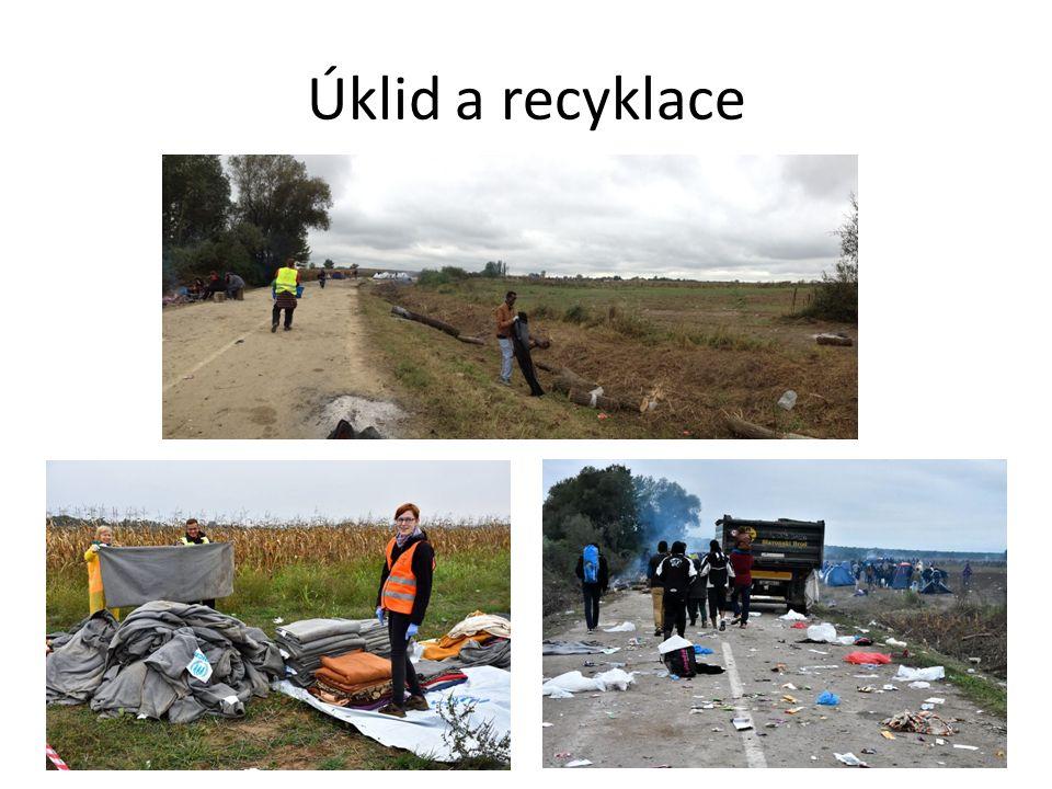 Úklid a recyklace