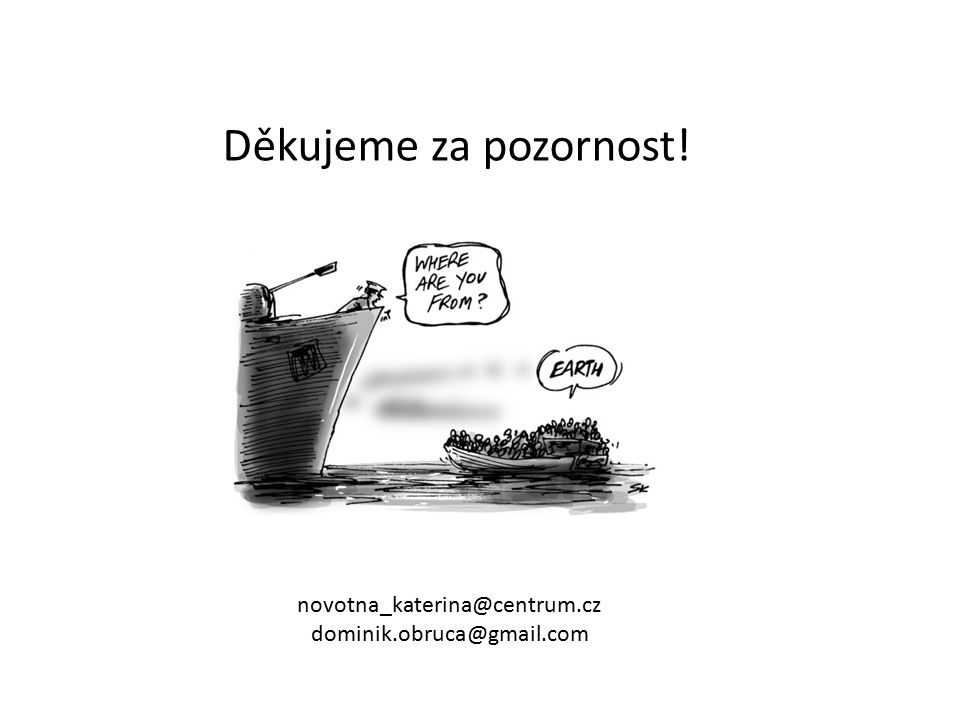 Děkujeme za pozornost! novotna_katerina@centrum.cz dominik.obruca@gmail.com