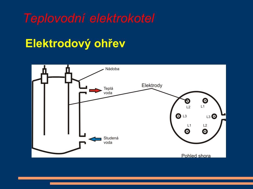 Teplovodní elektrokotel Elektrodový ohřev
