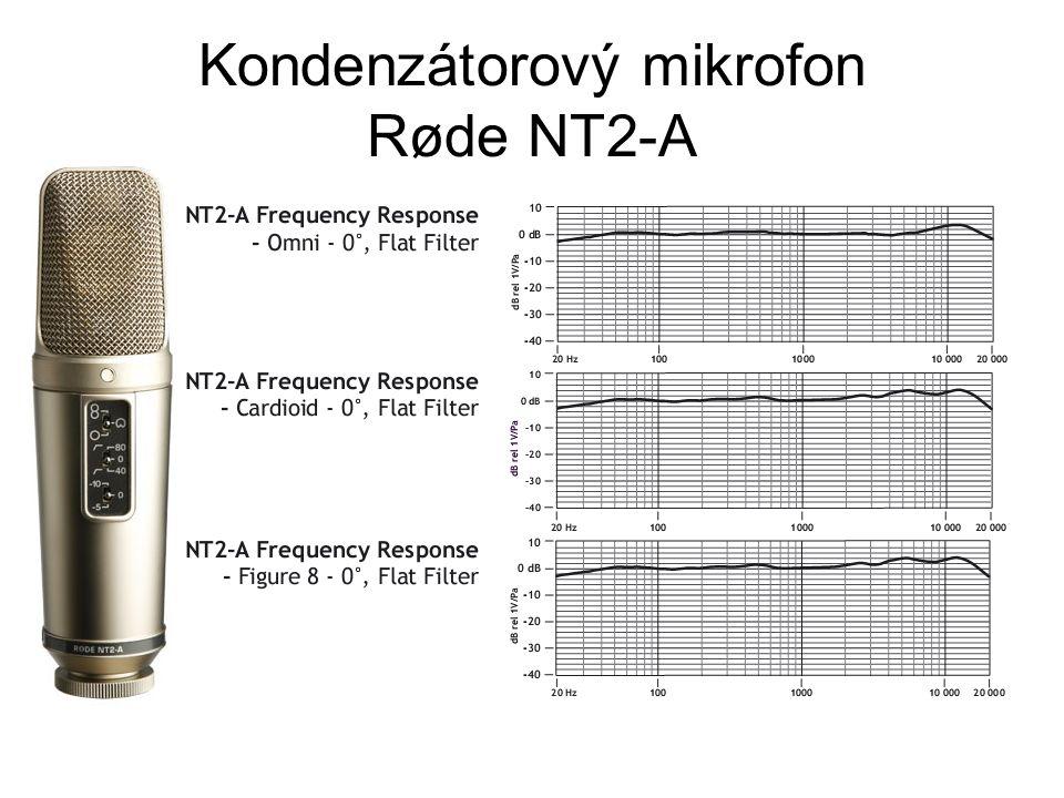 Kondenzátorový mikrofon Røde NT2-A