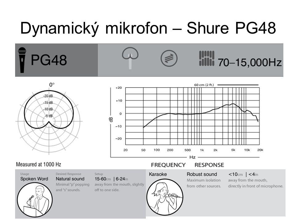 Dynamický mikrofon – Shure PG48
