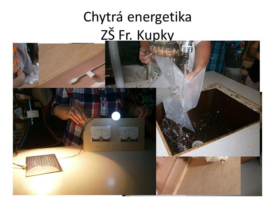 Chytrá energetika ZŠ Fr. Kupky