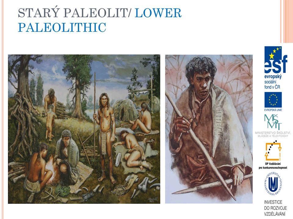 STARÝ PALEOLIT/ LOWER PALEOLITHIC