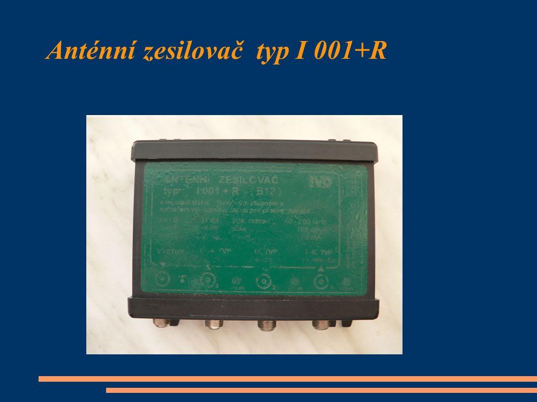 Anténní zesilovač typ I 001+R