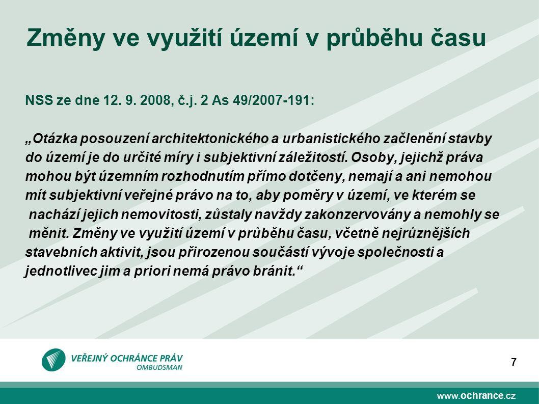 www.ochrance.cz 7 NSS ze dne 12. 9. 2008, č.j.