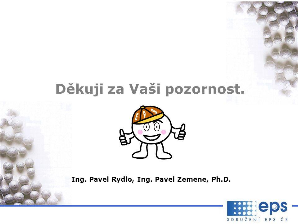 Děkuji za Vaši pozornost. Ing. Pavel Rydlo, Ing. Pavel Zemene, Ph.D.