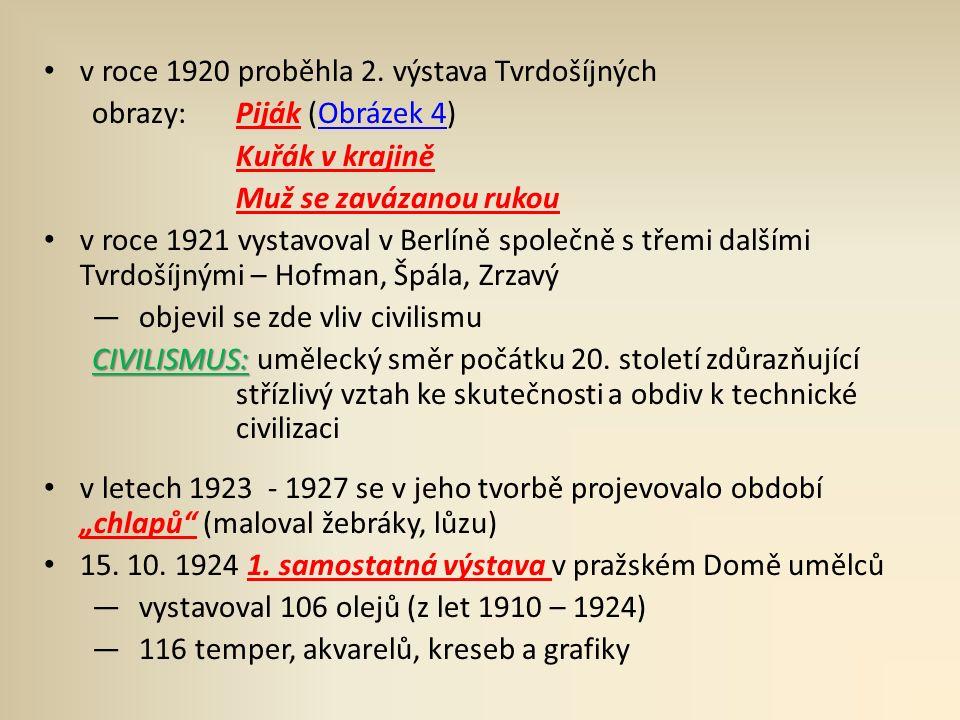 v roce 1920 proběhla 2.