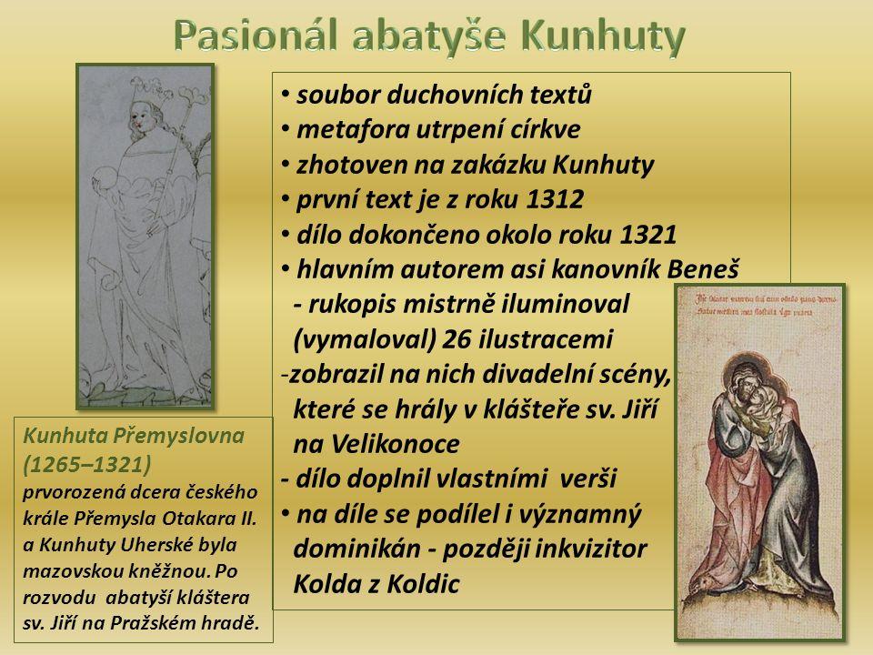 Kunhuta Přemyslovna (1265–1321) prvorozená dcera českého krále Přemysla Otakara II.