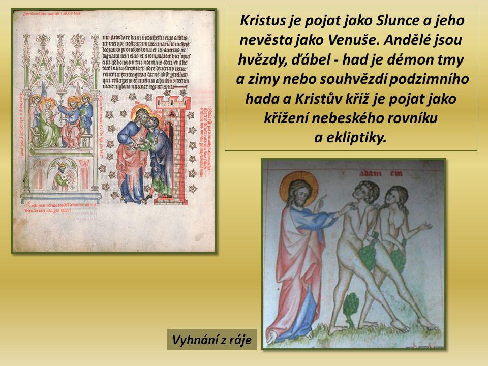 Kristus je pojat jako Slunce a jeho nevěsta jako Venuše.