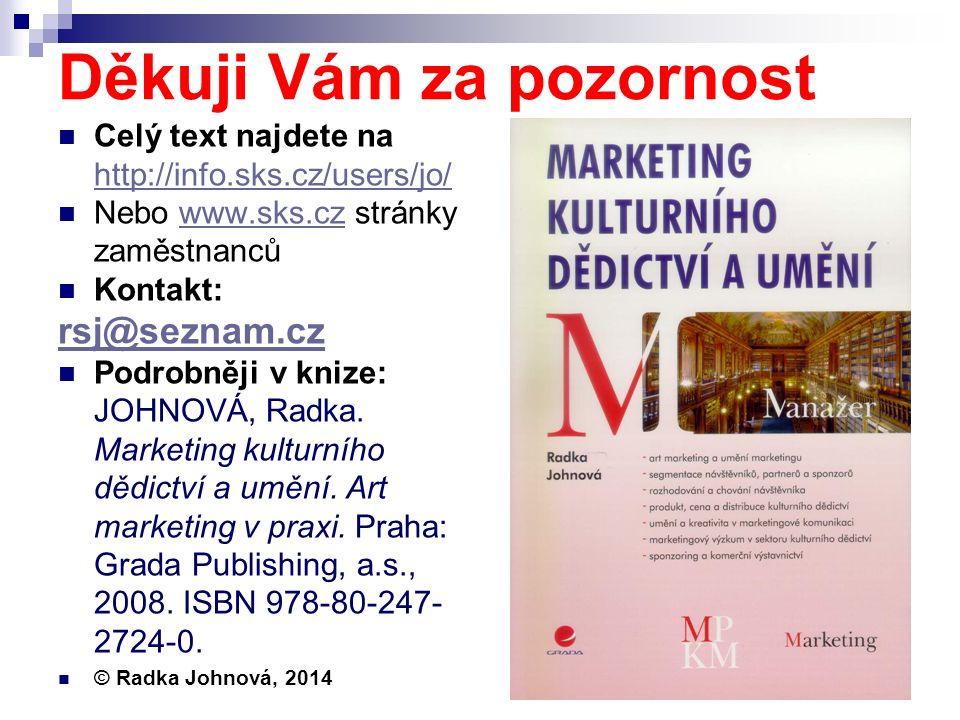 Děkuji Vám za pozornost Celý text najdete na http://info.sks.cz/users/jo/ http://info.sks.cz/users/jo/ Nebo www.sks.cz stránky zaměstnancůwww.sks.cz K