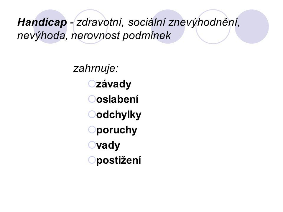Oftalmopedie (tyflopedie – pg.nevidomých) Pedagogika zrakově postižených.