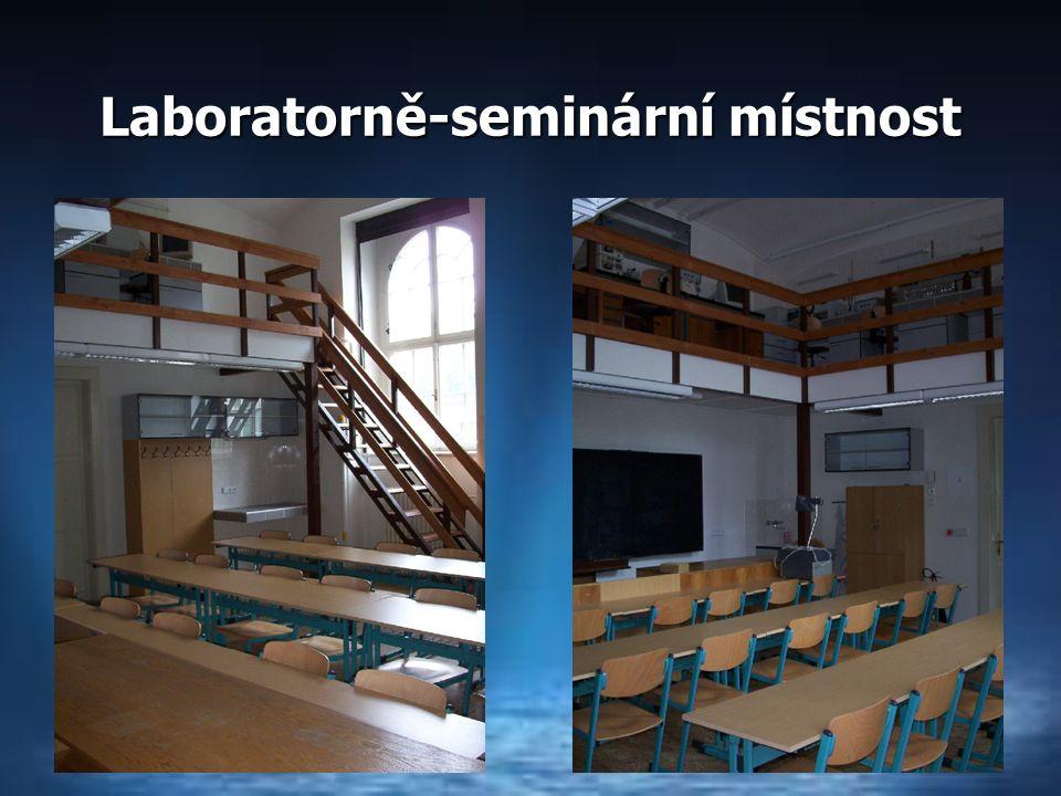 Laboratorně-seminární místnost