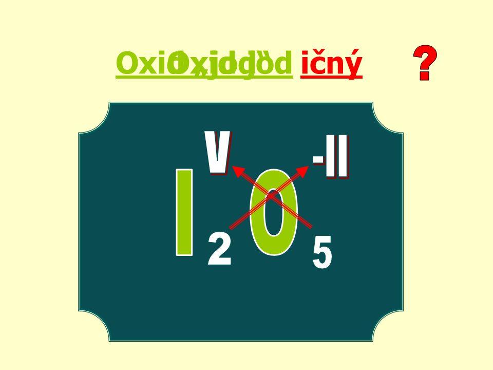 "Oxid ""jod ičnýOxid jod"