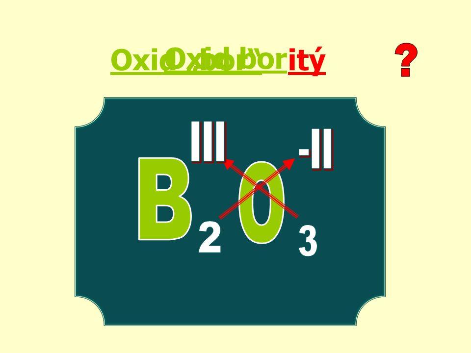 "Oxid ""bor itý Oxid bor"