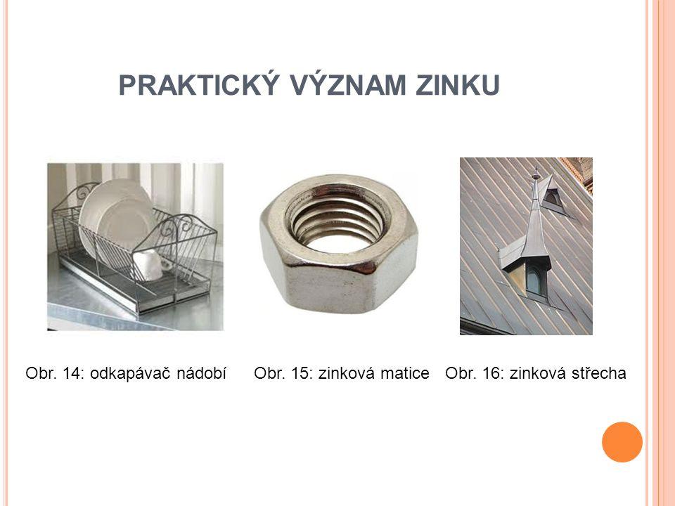 PRAKTICKÝ VÝZNAM ZINKU Obr. 17: zinkový parapet Obr. 18: zinkový plot