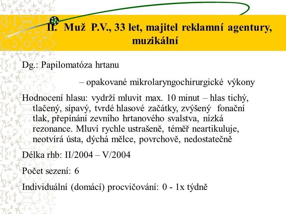 Příčiny možných neúspěchů 1.Dlouhodobá fixace patologického fonačního mechanismu (od 13 let věku) 2.Amúzie, tj.
