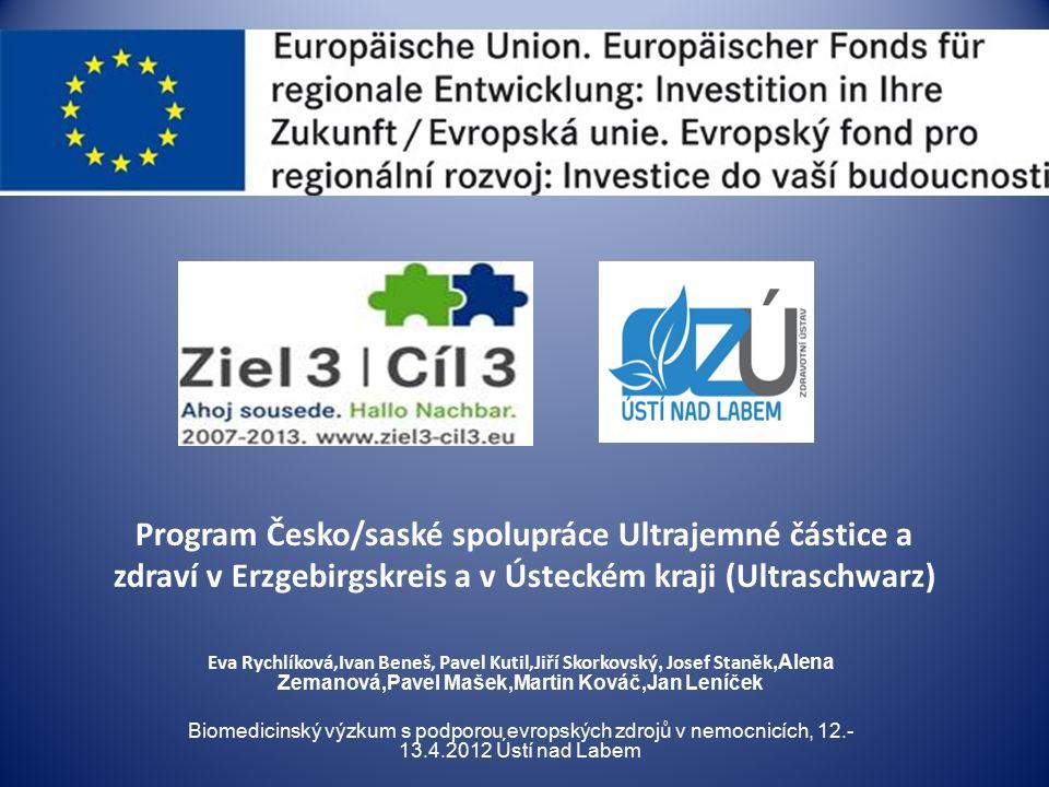EUROPEAN RESPIRATORY SOCIETY (2006) Existují silné důkazy o příčinné souvislosti mezi expozicí a negativní účinky na zdraví.