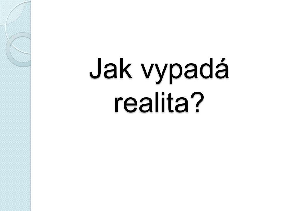 Jak vypadá realita?