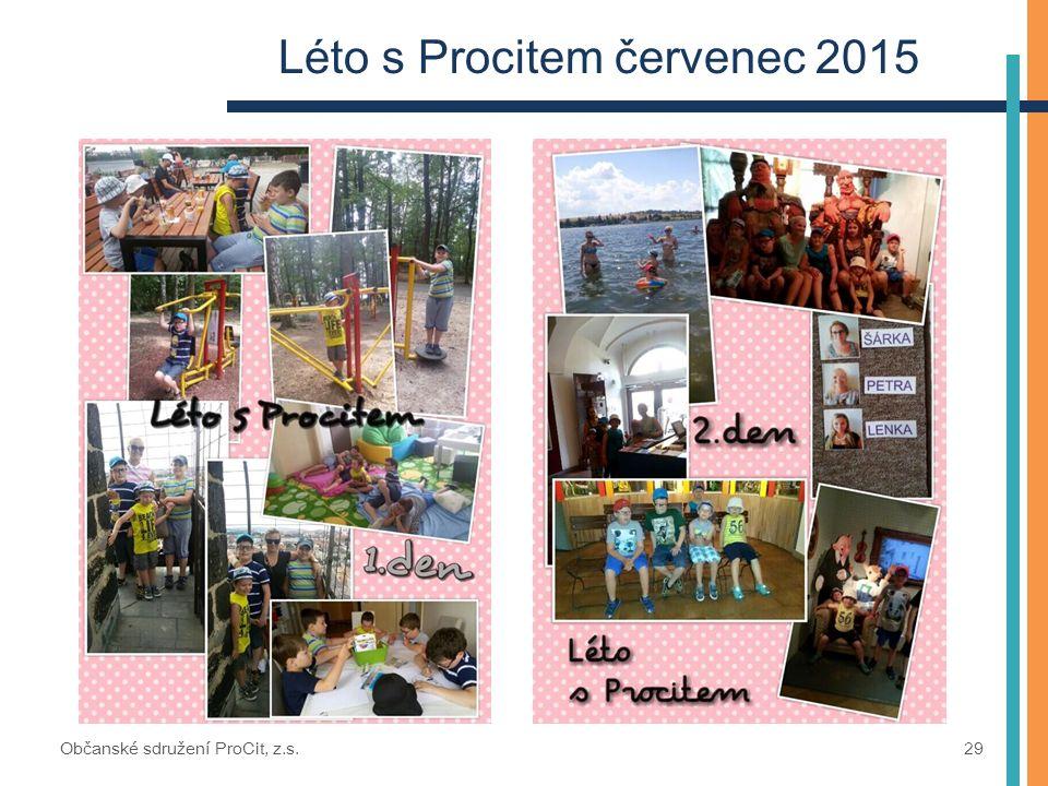 Léto s Procitem červenec 2015 Občanské sdružení ProCit, z.s. 29