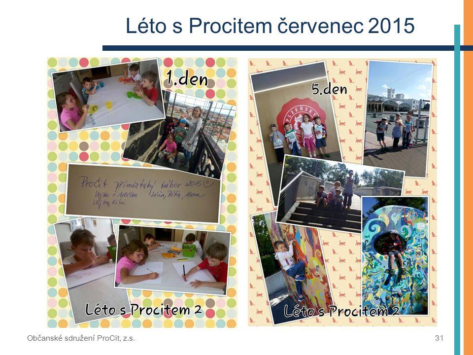 Léto s Procitem červenec 2015 Občanské sdružení ProCit, z.s. 31