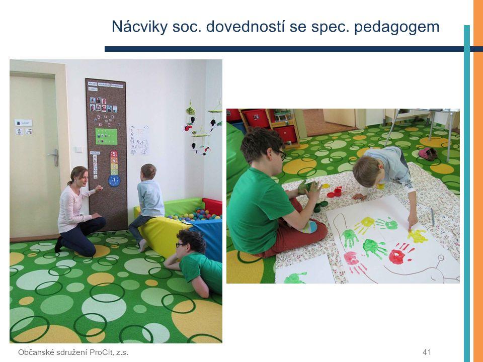Nácviky soc. dovedností se spec. pedagogem Občanské sdružení ProCit, z.s.41