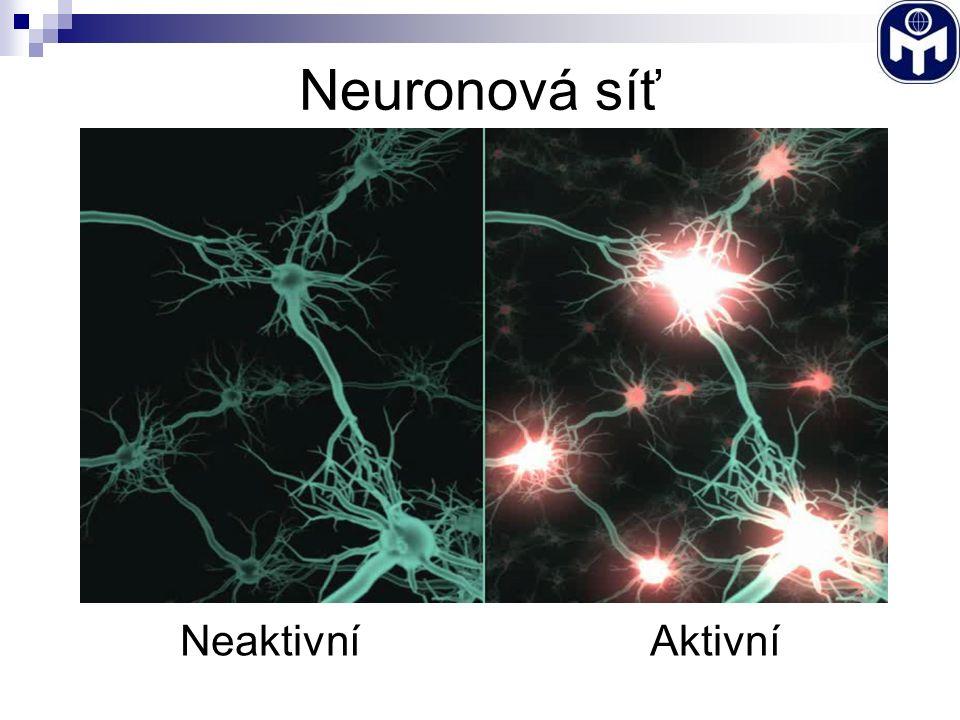 Neuronová síť NeaktivníAktivní