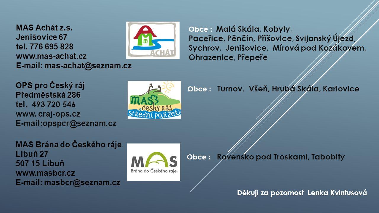 OPS pro Český ráj Předměstská 286 tel. 493 720 546 www.