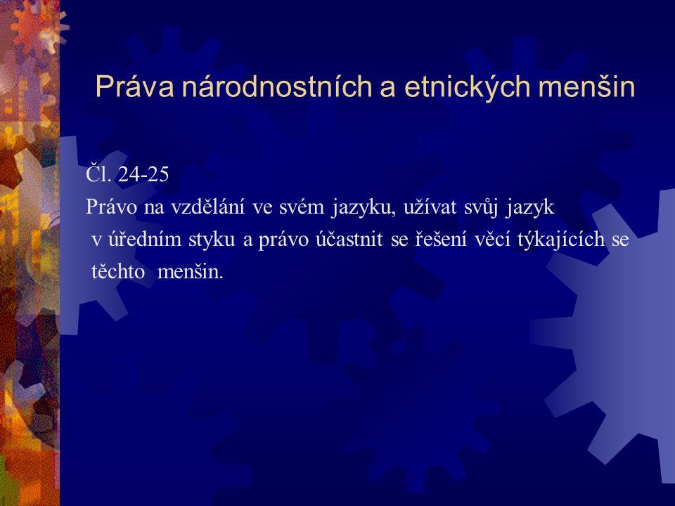 Práva hospodářská,kulturní,sociální,ekologická Čl.