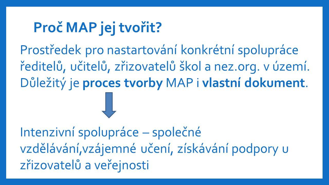 Proč MAP jej tvořit.