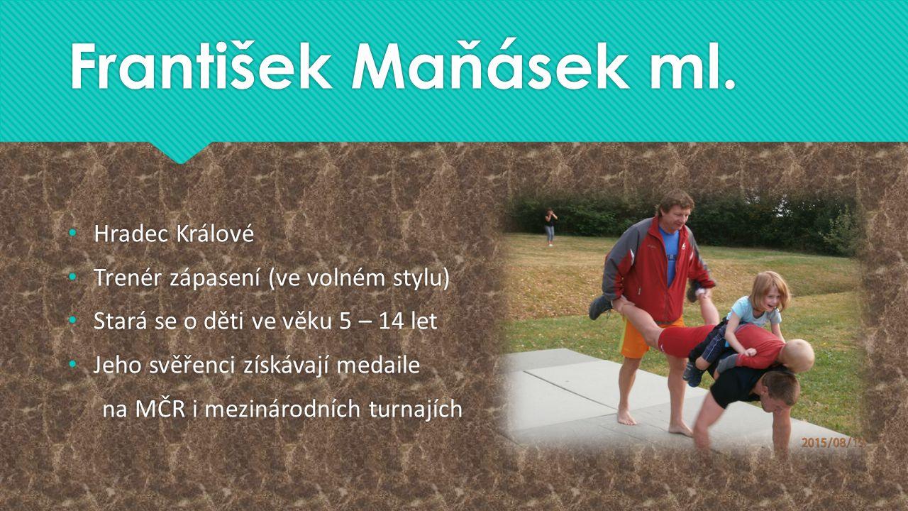 František Maňásek ml.