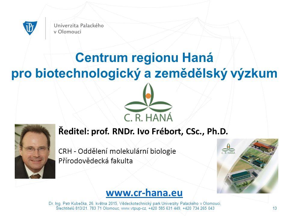 Dr.Ing. Petr Kubečka, 26.