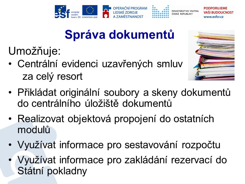 Správa dokumentů