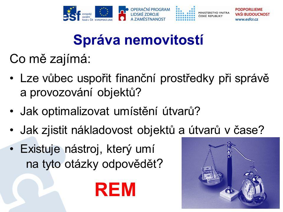 Správa nemovitostí - REM Resort MV spravuje −cca 3 000 objektů vlastních −cca 2 000 objektů v nájmu