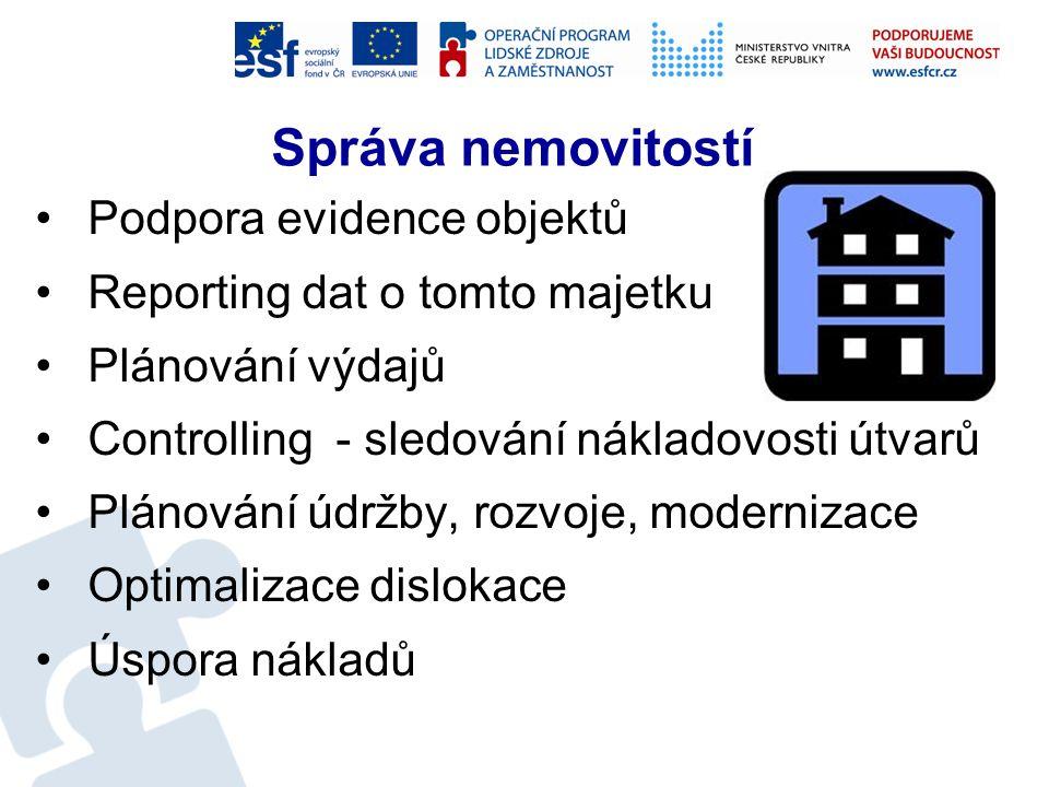 Správa nemovitostí Co mě zajímá: Lze vůbec uspořit finanční prostředky při správě a provozování objektů.
