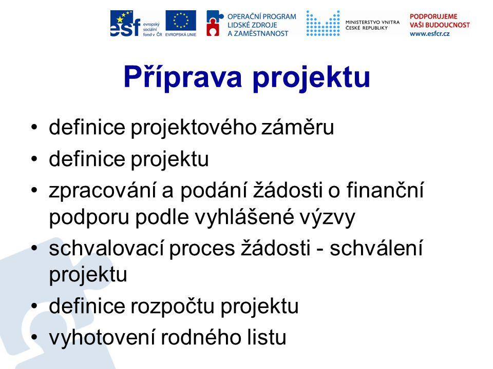 Část správa a evidence projektů Vyhlášena soutěž Předpoklad realizace červenec – prosinec 2013 Obsah −tvorba projektové dokumentace pro schválení EU projektu −sledování realizace −sledování finančního čerpání −zpracování monitorovacích zpráv