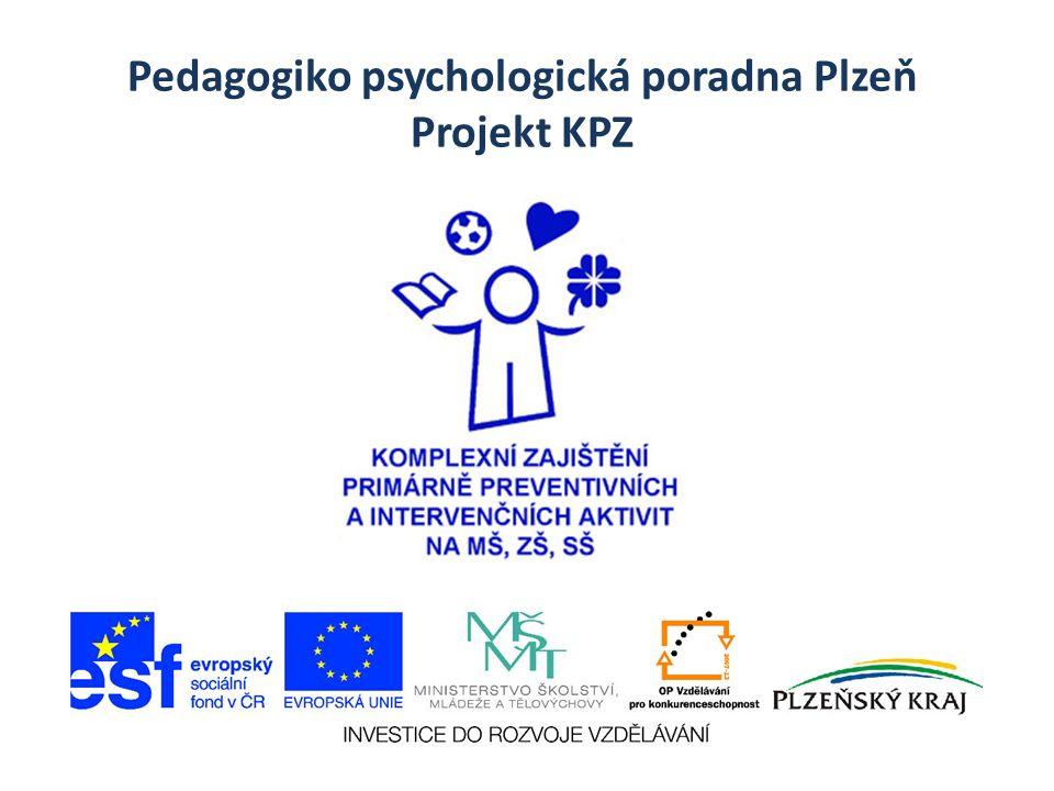 Pedagogiko psychologická poradna Plzeň Projekt KPZ