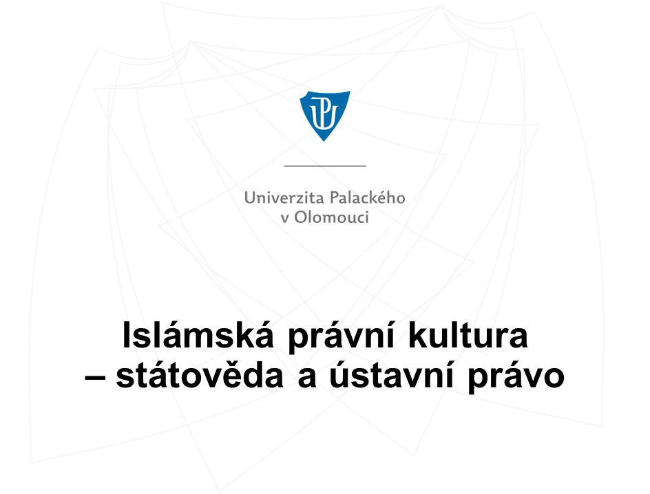 Chalífa  Povinností chalífy je ochrana islámu, obrana ummy, resp.