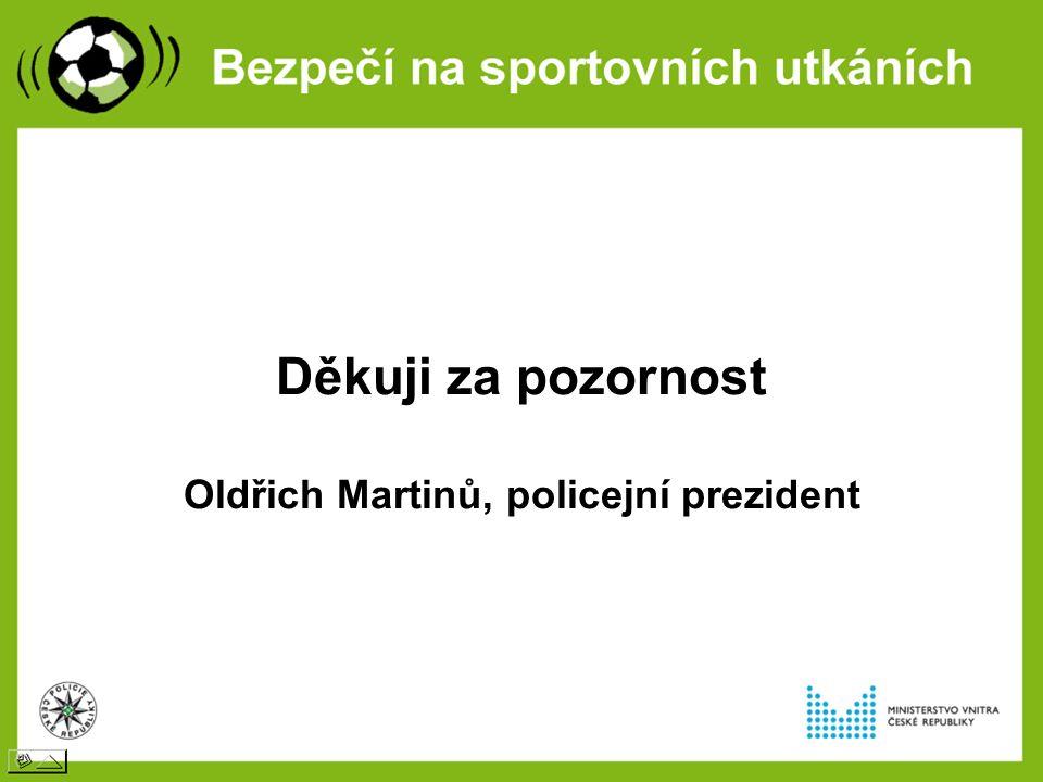 Děkuji za pozornost Oldřich Martinů, policejní prezident