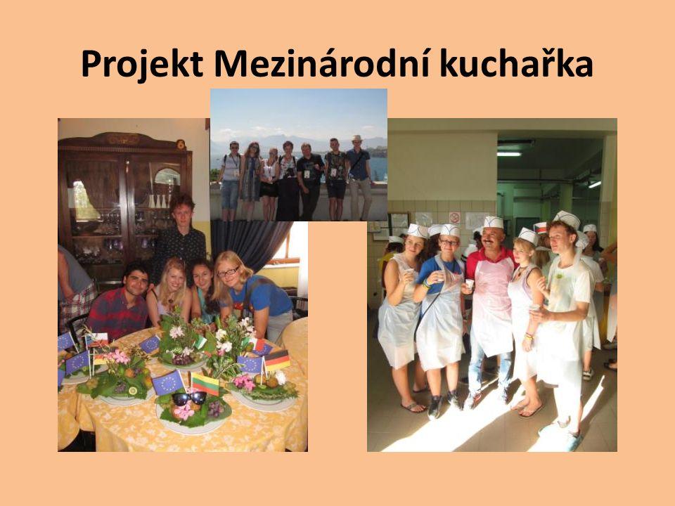 Projekt Mezinárodní kuchařka