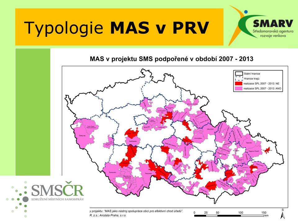 Typologie MAS v PRV