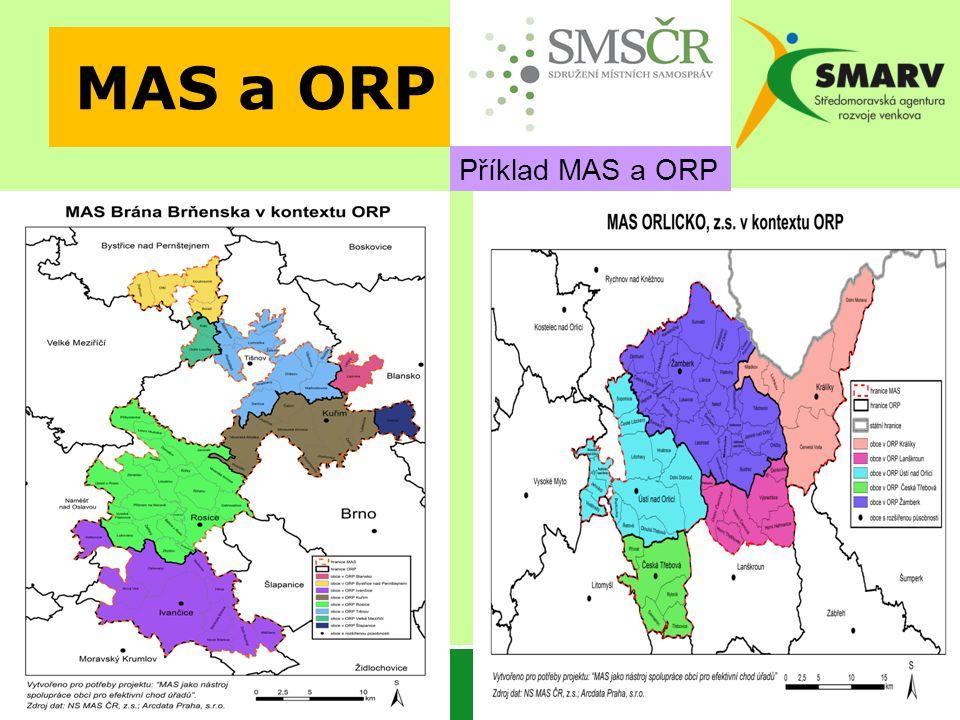 MAS a ORP Příklad MAS a ORP