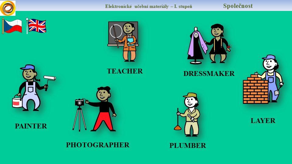 Elektronické učební materiály – I. stupeň Společnost DŮLEŽITÉ!!!! Každá práce i zábava potřebuje matematiku! Švadlena potřebuje na šaty červené a žlut