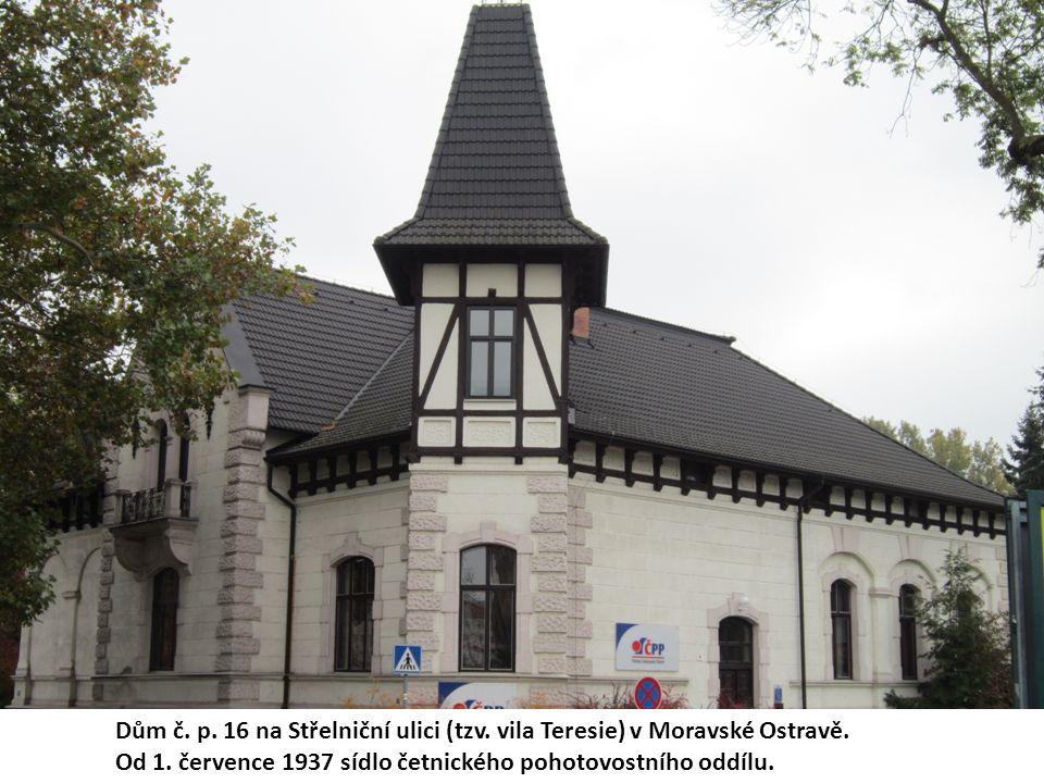 Dům č. p. 16 na Střelniční ulici (tzv. vila Teresie) v Moravské Ostravě.