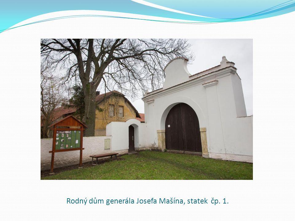 Rodný dům generála Josefa Mašína, statek čp. 1.