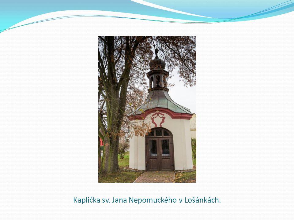Kaplička sv. Jana Nepomuckého v Lošánkách.