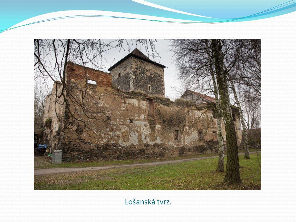 Lošanská tvrz.