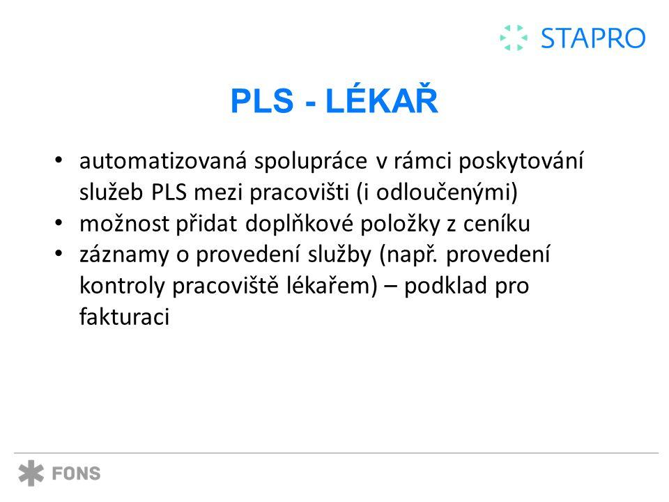 PLS - LÉKAŘ
