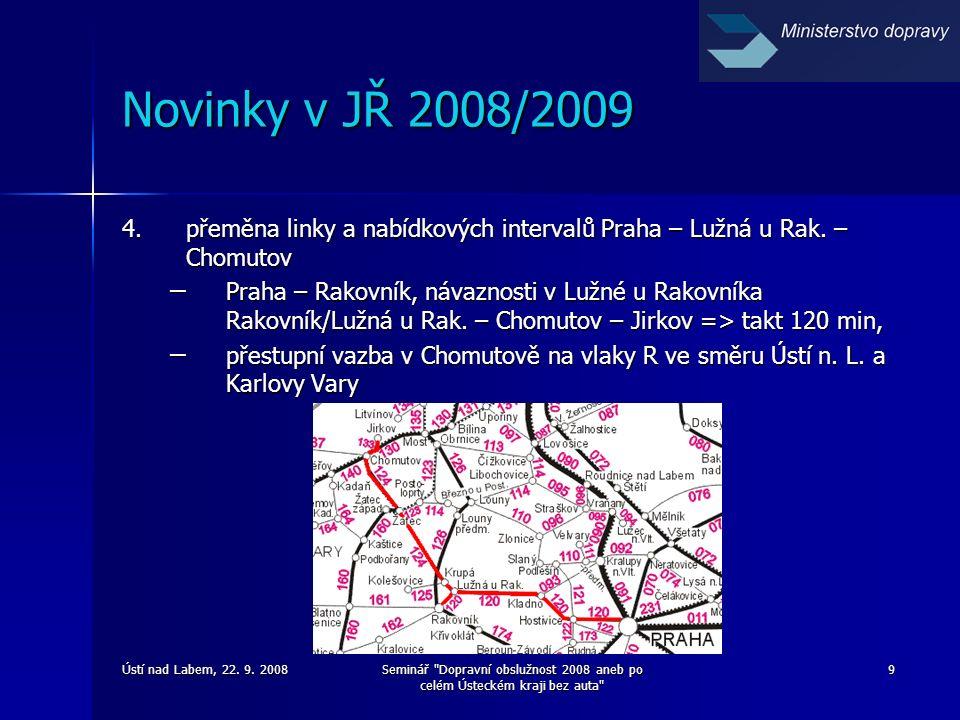 Ústí nad Labem, 22. 9. 2008Seminář