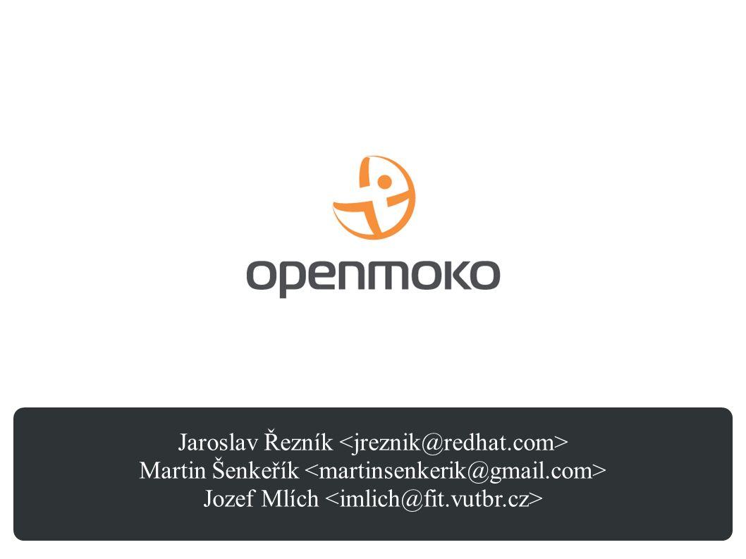 Jaroslav Řezník Martin Šenkeřík Jozef Mlích