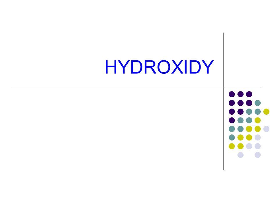 HYDROXIDY
